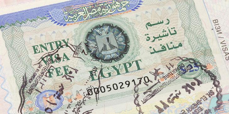 Egipska wiza