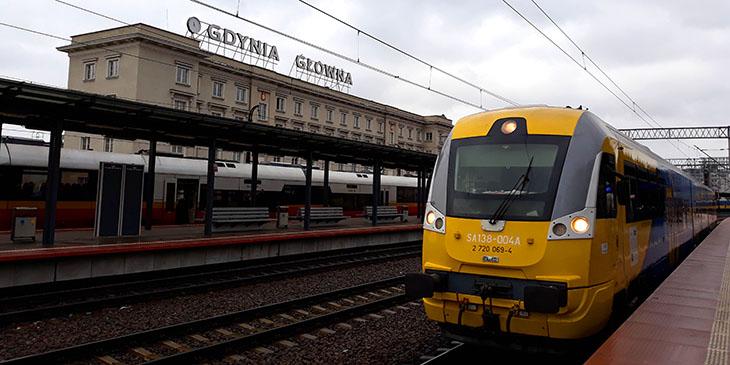 Pilotażowe połączenia kolejowe Gdynia-Kaliningrad