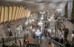 Niemal 2 mln turystów zwiedziło kopalnię soli w Wieliczce