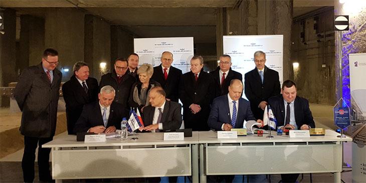 PKP Polskie Linie Kolejowe S.A. podpisały umowę za 1,3 mld zł na budowę tunelu