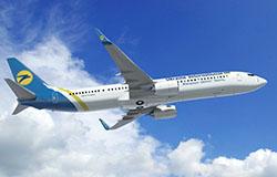 Szybujące wskaźniki ukraińskich linii lotniczych