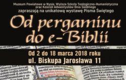 Od pergaminu do e-biblii – historia Pisma Świętego w pigułce