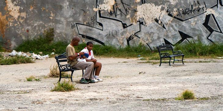Ławeczka w Hawanie