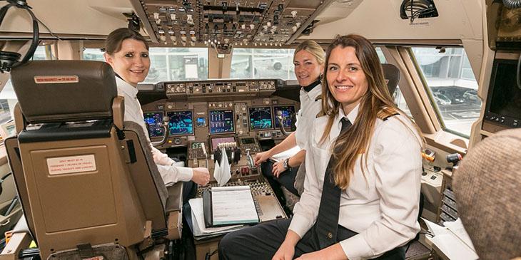 Lufthansa piloci