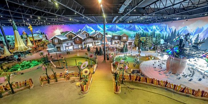 Majaland to nowy park rozrywki powstający niedaleko granicy z Niemcami (Fot. Władysław Czulak / Agencja Gazeta)