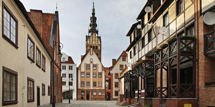 Wieża katedry św. Mikołaja w Elblągu