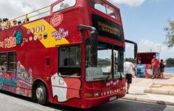 Malta: piętrowy autokar turystyczny zawadził o drzewo