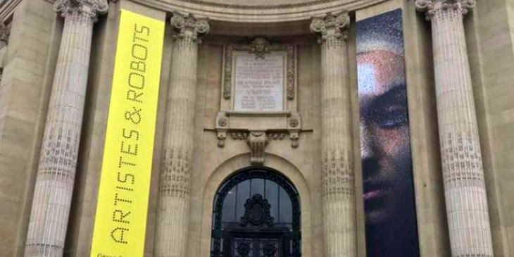 """Wystawa """"Artyści i roboty"""" w Grand Palais w Paryżu"""