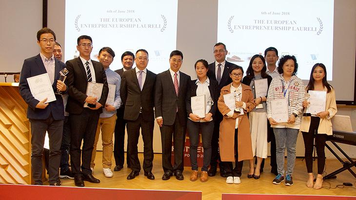 Laureaci Europejskiego Lauru Przedsiębiorczości - Chiny
