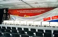 Ostatnie przygotowania do targów China Homelife Poland
