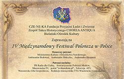 IV Międzynarodowy Festiwal Poloneza – 16-17 czerwca 2018