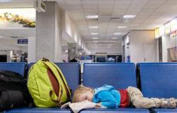 Stansted: Zakaz spania na lotnisku
