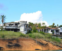 Dom Escobara został areną paintballową