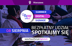 Summer Digital Signage – 8.08.2018 Warszawa