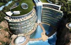 Luksusowy hotel powstaje w kamieniołomie