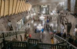 Kopalnię soli w Wieliczce odwiedziło ponad milion turystów