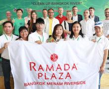 Ramada Plaza Bangkok: oczyść swoją rzekę
