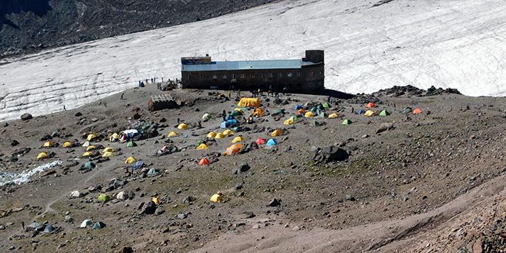 Miejsce zwane Bethlemi, położone na wysokości około 3650 m