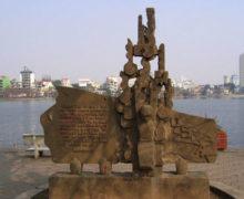 Wietnamski pomnik amerykańskiego bohatera