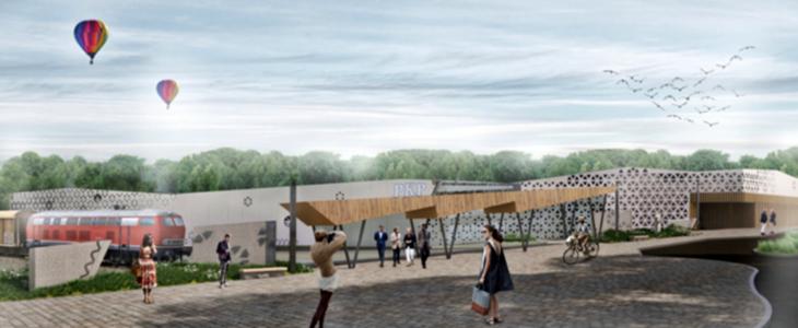 Projekt nowego dworca w Zakopanem