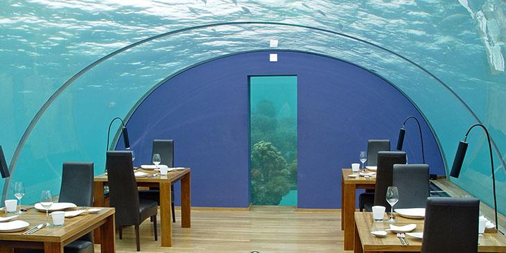 Ithaa Undersea Restaurant - Malediwy