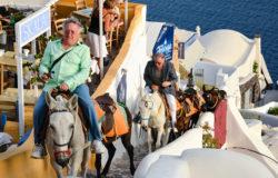 Santorini: Zakaz przejażdżek na osiołkach turystom z nadwagą