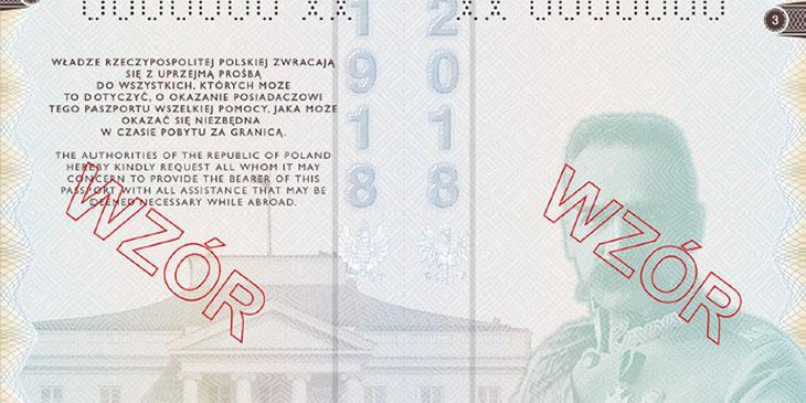 Nowy wzór polskiego paszportu