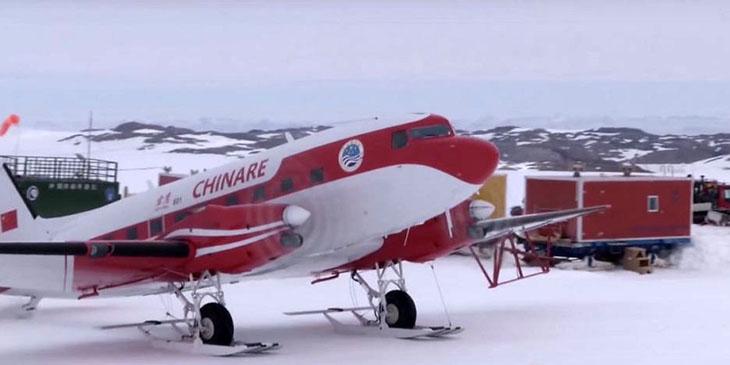 Chińczycy budują lotnisko na Antarktydzie