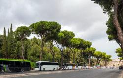 Centrum Rzymu bez autokarów