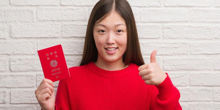 Japoński paszport