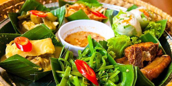 Kambodża jedzenie
