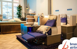 Brussels Airlines: boutique hotel in the air