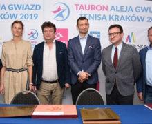 Aleja Gwiazd Tenisa powstanie w Krakowie