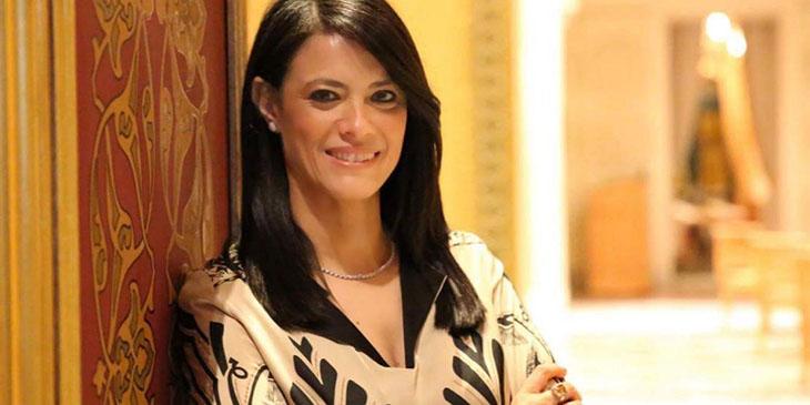 Minister Turystyki Egiptu Rania al-Mashat