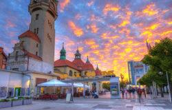 Lista romantycznych miast w Europie Środkowej. Wśród nich cztery z Polski