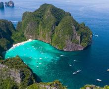 Plaża Maya Bay zamknięta przez kolejne dwa lata