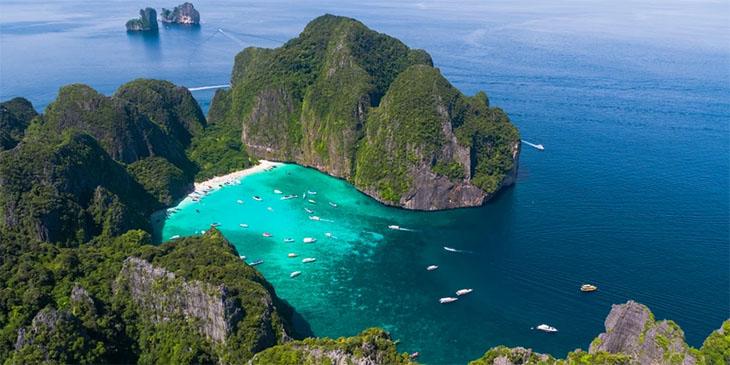 Plaża Maya Bay