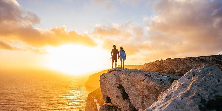 Malta - zachód słońca