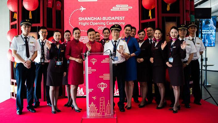 Shanghai Airlines uruchomiły bezpośrednie loty do Budapesztu