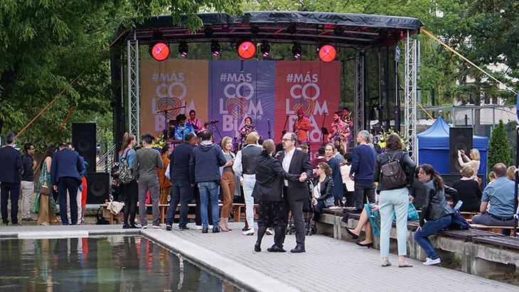 Święto Kolumbii na warszawskiej Pradze