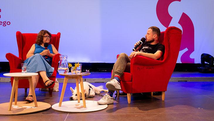 Anna Bikot i Wojciech Szot