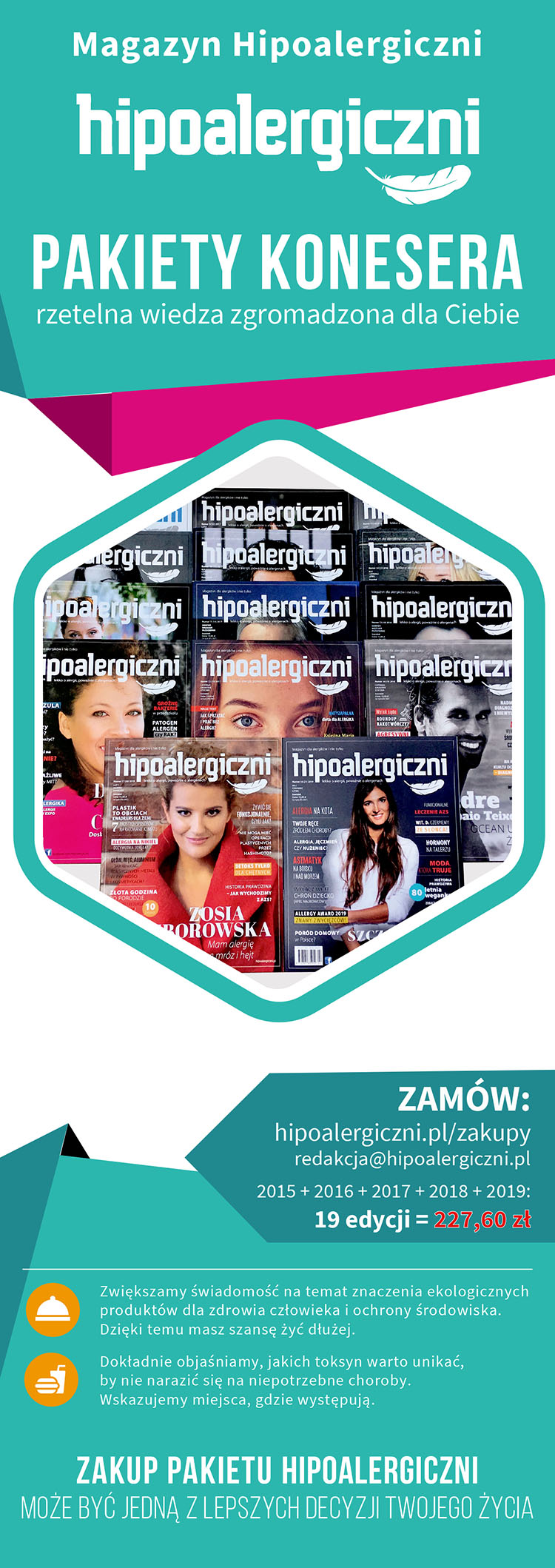 Hipoalergiczni - pakiety konesera