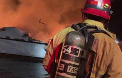 Pożar na łodzi w Kalifornii – zawiniły baterie litowe?