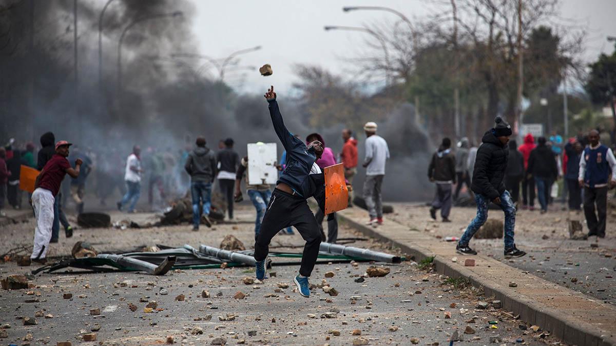 Zamieszki w Republice Południowej Afryki