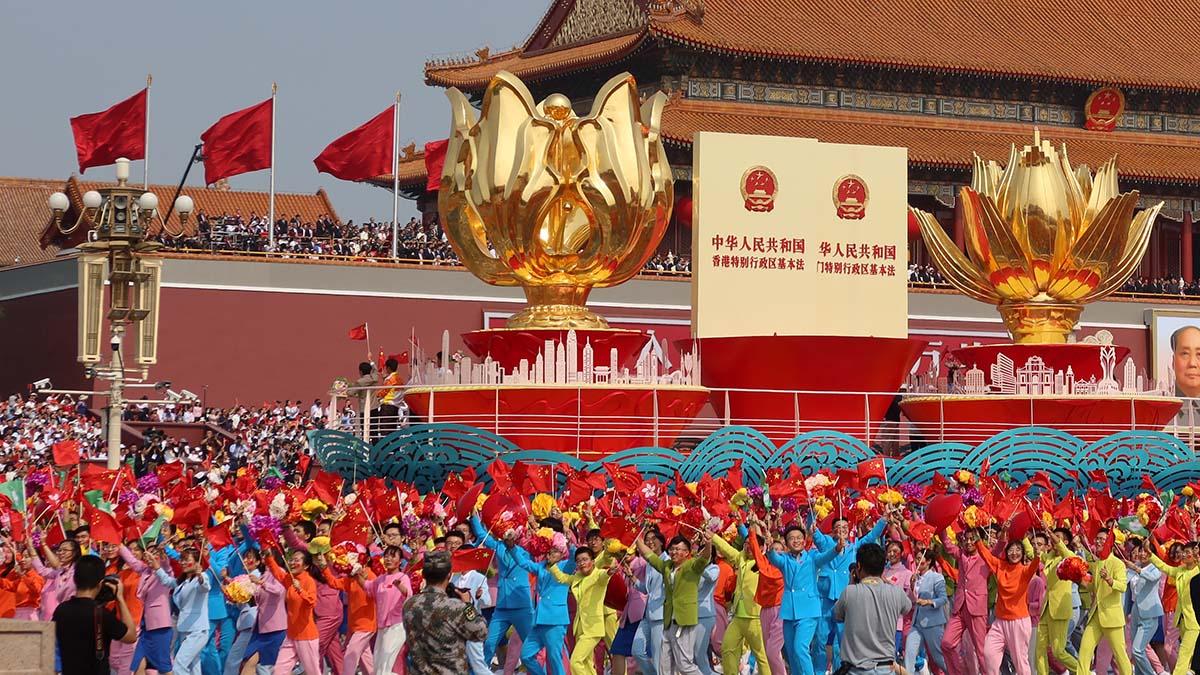 Parada z okazji 70-lecia proklamowania komunistycznej ChRL