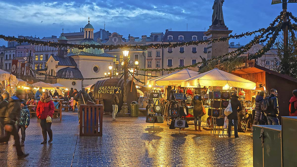 Jarmark w Krakowie