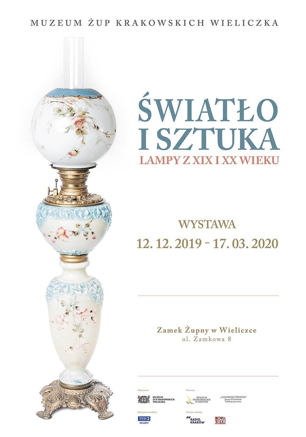 Światło i sztuka. Lampy z XIX i XX wieku
