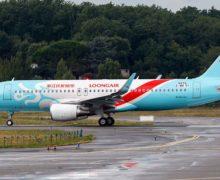 Czwarty lot z Taszkentu do Chin