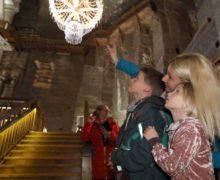 Goście z całego świata w Wieliczce