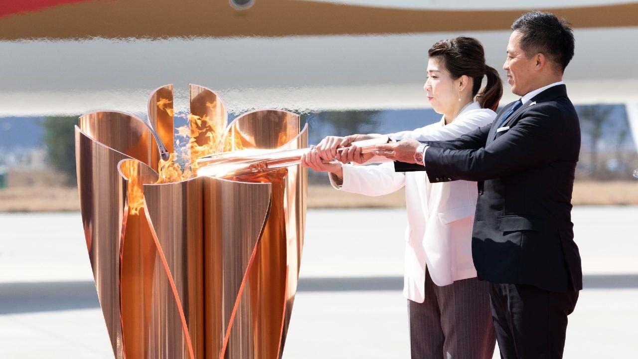 Sztafeta olimpijska w Japonii